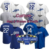 35 Cody Bellinger 2020 maglie da baseball Mookie Betts Hernandez Justin Turner Pollock Seager Walker Buehler Muncy Pederson sarà Smith Clayton Kershaw Julio Urias