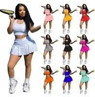 Womens 2 Two Piece Pants T Shirt Tracksuits Design Summer Dress Crop Top Shorts Yoga Outfits Casual Women Clothing