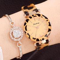 Мода Женщины Часы Montre Femme Леопарда Принт Кожи Аналоговые Кварцевые Часы Женские Наручные Часы Reloj Mujer Zegarek Damski