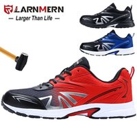 Ларнмерная мужская стальная носящая трудовая обувь Обувь легкая дышащая противоскользящая нескользящая конструкция защитная обувь 211025