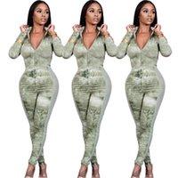 Женские плиссированные сетки сетки тощие Rompers мода Trend с длинным рукавом на молнии шеи топы брюки схватывает дизайнер зимние женские сплайные повседневные коммунарии