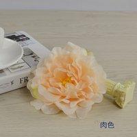 50 stücke Hohe Qualität Seide Pfingstrose Blume Köpfe Hochzeits Party Dekoration Künstliche Seide Pfingstrose Camellia Rose Blume Hochzeit Dekoration 496 s2