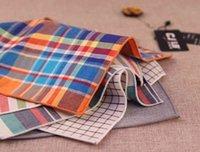 Herren Tasche Square Baumwolle Taschentücher Brusttuch Handtücher Hankies Männer Geschäftsmann Krawatten Anzug Hanky Taschentuch Männliche Anzüge Krawatten Zubehör