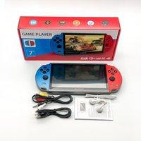 Video Game Consoles Player X12 Plus 7 Inch Screen Portable Handheld Games Console PSP Retro Dual Rocker Joystick VS X19 X7Plus