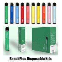 Original beedf Plus Device monouso Sigarettes 800 Sfuffs 3ml Pod Pods Pod Pods Pods 550mAh Batteria Avilble Sfuff XXL Bar