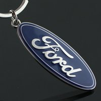 Kette Zink Logo Metall 5pcs / lot FORD 3D Legierung Mode Keychain Schlüsselanhänger LLaveros Auto Hohe Qualität Chaveiro Portachiavi Hombre Dapaa