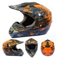 Motorcycle Helmets Off-road Helmet Children Bike Downhill AM DH Cross Capacete Motocross Casco