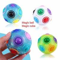 Party Favore Personalità Colore Creativo Mini Magic Ball Giocattoli per bambini e adulti Anti-stress Relax Regali educativi portatili