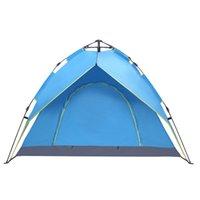 2-3 شخص محمول الإعداد الفوري على الظهر التلقائي خيمة التخييم في الهواء الطلق