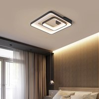Simplicité moderne LED plafonniers rond / carré pour chambre à coucher Hall de séjour Cuisine Lampe de lusure d'intérieur Appliquer à AC90-260V R257