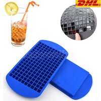 Ice Maker Flush 160 Сетка Cube Diamond Square Form / 150 Сетка Любовный Форма сердца / 160 Треугольник Форма Силиконовый Ледяной Кубик Лоток Шоколад Выпечки