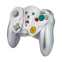 Game Cube 2.4g Wireless Controller NGC Joystick Gamepad Joypad für Nintendo-Gastgeber und kompatibel mit Wii-Konsolenspielen