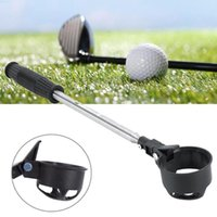 Complete Set Of Clubs Portable Golf Ball Retriever Stainless Steel Shaft Picker Pick Up Scoop Automatic Locking