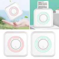 Wireless Label Printer Bluetooth Mini Portable Pocket Thermal Po Tag Price Sticker Printing Home Office Use Printers