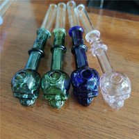 Glass Oil Burner Pipe For Water Bongs Smoking Colorful Hand Pipes Bong Dab Rigs NN