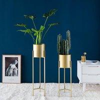 Andere Wohnkultur Stehende Regal Dekoration Metallpflanze Blumentopf Dekorationen Wohnzimmer Bodenart Schmiedeeisen Dezember