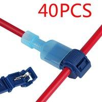 Set di utensili a mano professionale 20 / 40pcs T-tap wire Connectors Cavo elettrico Quick Electrical Snap Brill Block Terminali a crimpare