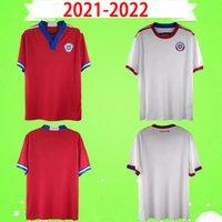 2021 2022 Nyaste Chile Soccer Jersey Toppkvalitet Chilean Home Away Jerseys 21 22 Vidal Alexis Sanchez Felipe Mora Erick Pulgar Football Shirt S-2XL