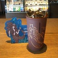 Nowe Starbucks Mermaid bogini korony brown kubek kawy 2018 rocznica podwójna kubek ceramiczny 355ml ze złotą koroną
