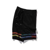 Femmes Pantalons courts pour Mens Summer Casual Luxurys Designers Designers Pantalons Homme Respirant Letter Lettre Géométrique Imprimer Shorts Pantalons 210514V