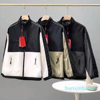 Mens jacket sportswear designe hoodies parka Spring and Autumn Coat Hooded Zipper Panelled Epaulet bomber jacket motorcycle face north jacke