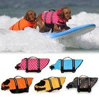 Kurtka S Outdoor Pet Cloth Float Puppy Rescue Swimming Wear Bezpieczeństwo Ubrania Life Kamizelka dla psów