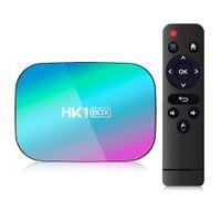 HK1 Amlogic S905X3 Android 9.0 TV BOX 4GB+32GB 128GB 8K caja de tv android Dual Wifi 2.4G+5G PK X96 Air A95XF3