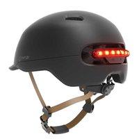 Smart4u sh50 ذكي الدراجات رجل المرأة الاطفال دراجة خوذة الظهر الصمام الخفيفة ل mtb سكوتر دراجة كهربائية