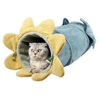 الأسرة القط الأثاث لطيف الحيوانات الأليفة نفق الحفر عش طوي هريرة الخضار تصميم التفاعلية لطي اللعب لعبة للقطط
