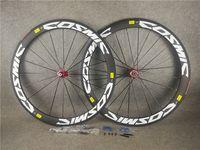 الكربون الكربون عجلة الفاصلة أنبوبي حافة عجلات 700c الطريق الدراجة العجلات 50x23 ملليمتر