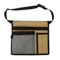 Storage Bags Single Side Tool Belt Bag Work Apron For Carpenters And Builders Durable Canvas Construction Adjustable