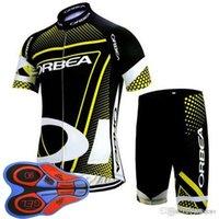 Yeni Orbea Bisiklet Giyim Spor Bisiklet Jersey Bisiklet Maillot Ropa Ciclismo Hombre 9D Jel Pad Yaz MTB Bisiklet Giysileri F2008