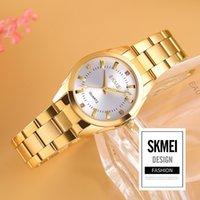 Designer LUXURY Brand Orologi Ei 1620 Gold Donne Casual Quartz Ladies Polso in acciaio inox in acciaio inox Strass Elegante orologi Relogio Feminino