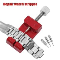 Repair Tools & Kits Watches Strap Detaching Device Disassembly Watch Band Opener Adjust Tool With Of 3 Extra Pins Sizing