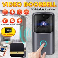 Smart WiFi Video Doorbell Camera Visual Intercom Night Vision IP Puerta Bell Inalámbrico Security With Timbells Timbre