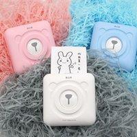 Printers Mini Printer Portable Po For Phone Picture Thermal Pocket Label Smartphone Instant