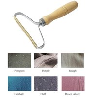 Portable Wood Lint Remover Clothes Woollen Sweater Clean Tool Clothes Cleaning Fuzz Shaver Multi-Fabric Sweater Comb with Steel net JJA203