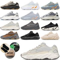 Static Reflective yeezys boost 700 V2 Running Shoes for mens Breathable Inertia Tephra Solid Utility Men Women Sport Trainers Sneakers Kanye West