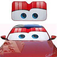 6 ألوان عيون ساخنة الزجاج الأمامي الظل نافذة الزجاج الأمامي غطاء الظل السيارات الشمس قناع، الكفيد السيارات الحماية الشمسية