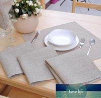 Table Napkin 12 Pcs/lot Linen Napkins Poly Cloth Dinner 42*42CM(16.5x16.5 Inch) Wedding Part1