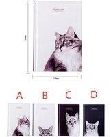"""Notepads """"Cats King"""" Hard Cover Hard Gatito Dairy Agenda Estudiante Trabajo de Estudiante Diario Cuaderno Gratis Nota Escuela Regalo"""
