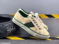 Gucci shoes أحدث التنس 1977 بروجيتستا أحذية رياضية الراقية والأحذية عارضة المرأة وصول الشماعات السيدات أزياء