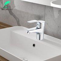 Rubinetti del lavandino da bagno Shbshaimy Basin miscelatore rubinetto acqua per uso domestico placcatura con coperchio