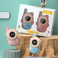 Walkie Talkie 2PCS Mini Kids Children Phone Handheld Transceiver 3KM Range Radio Interphone Child Toys For Boys Girl Gift