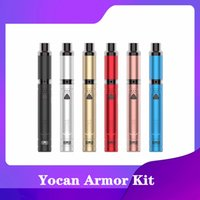 Yocan Armor Plus Wax Vaporizador Kits de Cigarro 650mAh PRETEAT Tensão de Bateria Ajustável Caneta