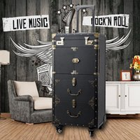 Suitcases Large Capacity Trolley Cosmetic Case Rolling Luggage,Nails Makeup Toolbox,Multi-layer Beauty Tattoo Salons Suitcase
