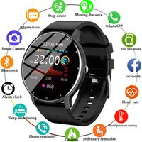 2021 New Smart Watch Men Women Full Touch Screen Sport Fitness IP67 Waterproof Bluetooth For Android IOS Smartwatch