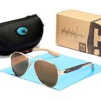 الكلاسيكية كوستا نظارات رجالي 9035_580P الاستقطاب uv400 قطعة عدسة جودة عالية أزياء العلامة التجارية الفاخرة المصممين نظارات الشمس للنساء TR90 سيليكون إطار حالة
