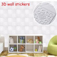 Wallpapers 3D Wall Stickers Home Decor Living Room Sticker Panels Self-adhesiver Ceiling For Kitchen TV Backdrop