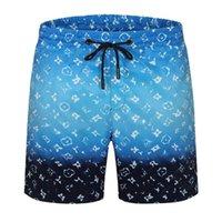 الصيف أزياء قصيرة رجل الطباعة السراويل مصمم في الهواء الطلق الترفيه الرياضة النسائية السباحة السراويل الشاطئ